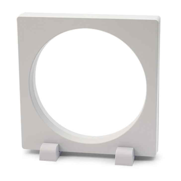FRAM3D EPress 12x12cm Round 3D Object Frame White