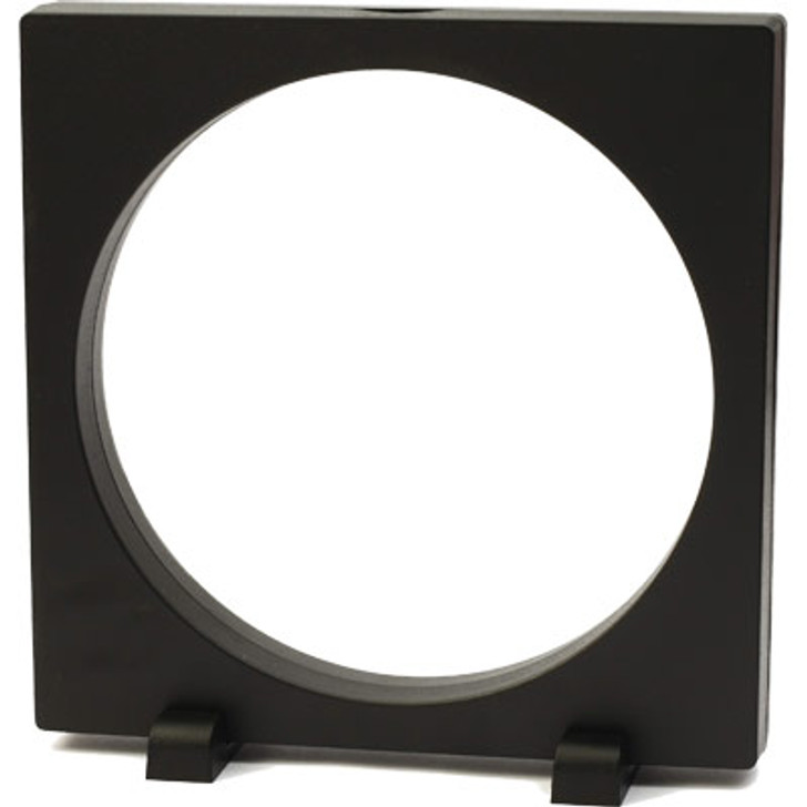FRAM3D BPress 16x16cm Round 3D Object Frame Black