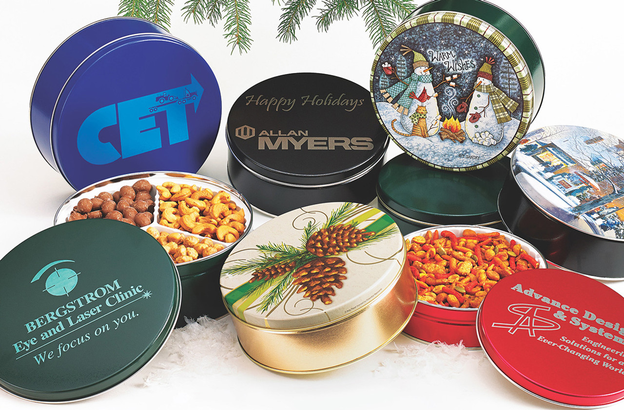 Holiday Gift Tins - Simply Nuts & More