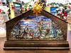 Stained Glass LED Nativity