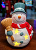 Light Up Snowman Stars 13cm