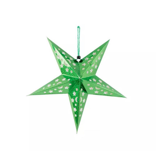 30cm Metallic Star - fold out