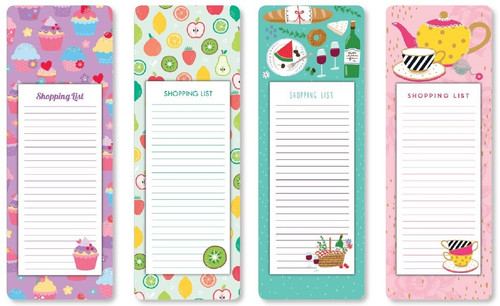 Magnetic Shopping List - Assorted