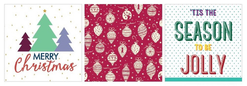 Xmas Paper Napkin Packs - Assorted