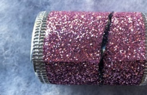 Glittery Wire-edged Ribbon Rolls