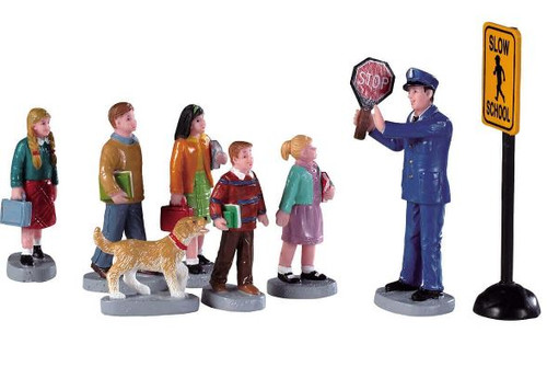 The Crossing Guard, Set of 8
