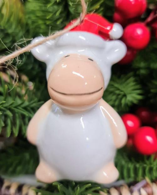 Ceramic Sheep Hanger