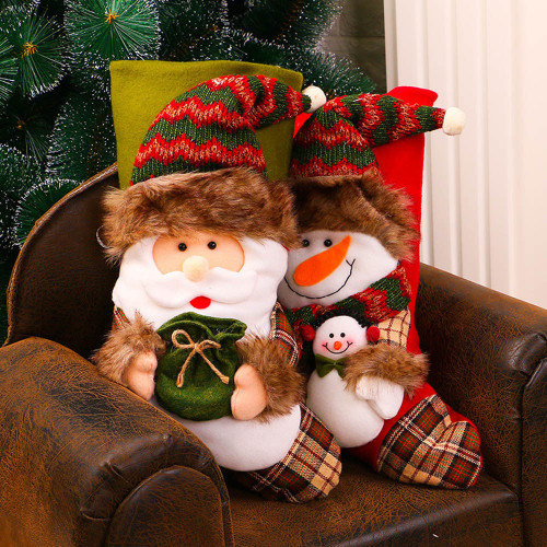 Luxury stocking with fur