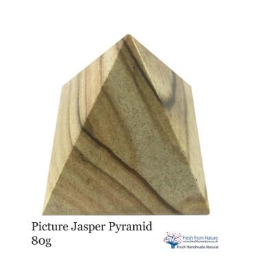 Picture Jasper Pyramid