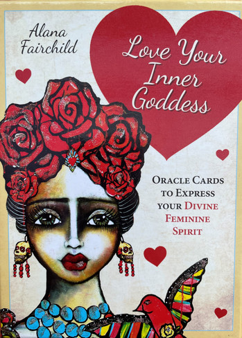 Love Your Inner Goddess Oracle Cards Box Set