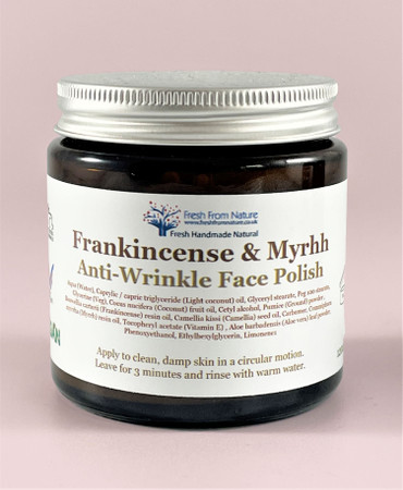 Frankincense & Myrrh Face Polish