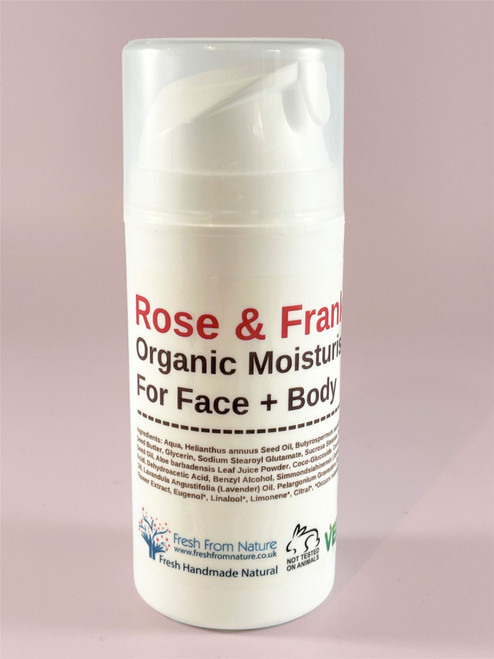 Rose & Frankincense Cream