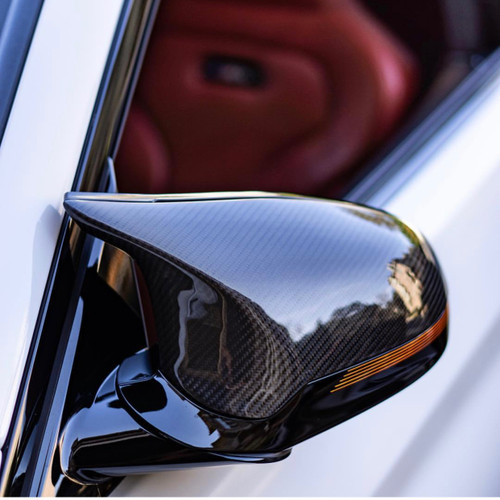 BMW F87 M2 Competition Carbon Fiber Mirror Cover Replacements