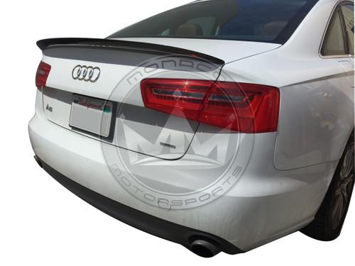 2012-2018 Audi A6 S6 (C7) Carbon Fiber High Kick Trunk Spoiler
