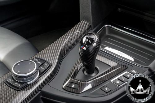 BMW M Carbon Fiber Shift Surround Trim Cover