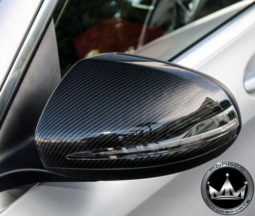Mercedes-Benz W205/W213/W222 Carbon Fiber Mirror Cover Replacements