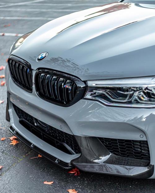 BMW F90 M5 Carbon Fiber M Performance Front Splitters Set