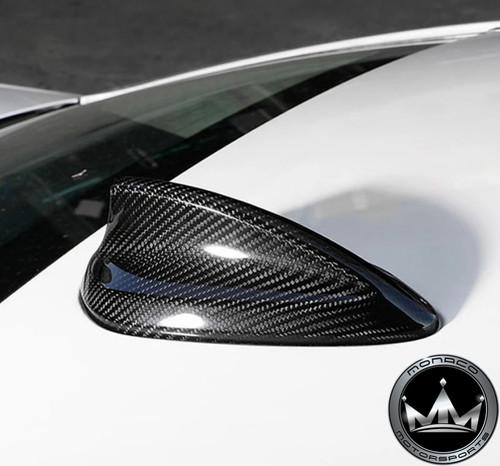 BMW Carbon Fiber Shark Fin Roof Antenna Cover M2 M3 M4 & 2, 3, 4 ,5 Series