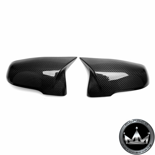 Toyota GR SUPRA A90 MK5 M Style Carbon Fiber Mirror Cover Replacements