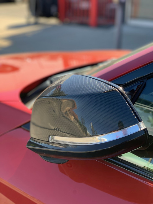 BMW F22/F30/F32 Carbon Fiber Replacement Mirror Covers