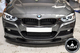 BMW 3 Series F30 Carbon Fiber Varis Style Front Lip