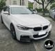 BMW F30 3 Series Carbon Fiber Front Bumper Splitters Extended
