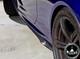 BMW F12/F13/F06 M6 6 Series V Style Carbon Fiber Side Skirt Add-on Lip Extensions