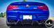 BMW F12/F13/F06 M6 V2 Style Carbon Fiber Diffuser