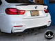 BMW M3 M4 F80/F82 Carbon Fiber 3D Style Diffuser