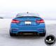 BMW M3 M4 F80/F82 M Performance Style Carbon Fiber Diffuser