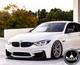 BMW M3 M4 F80/F82 V2 Style Carbon Fiber Front Lip