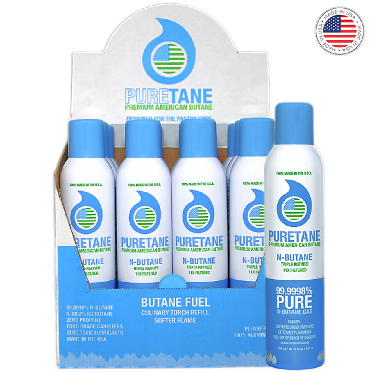 Puretane N-Butane Triple Refined 11X Filtered