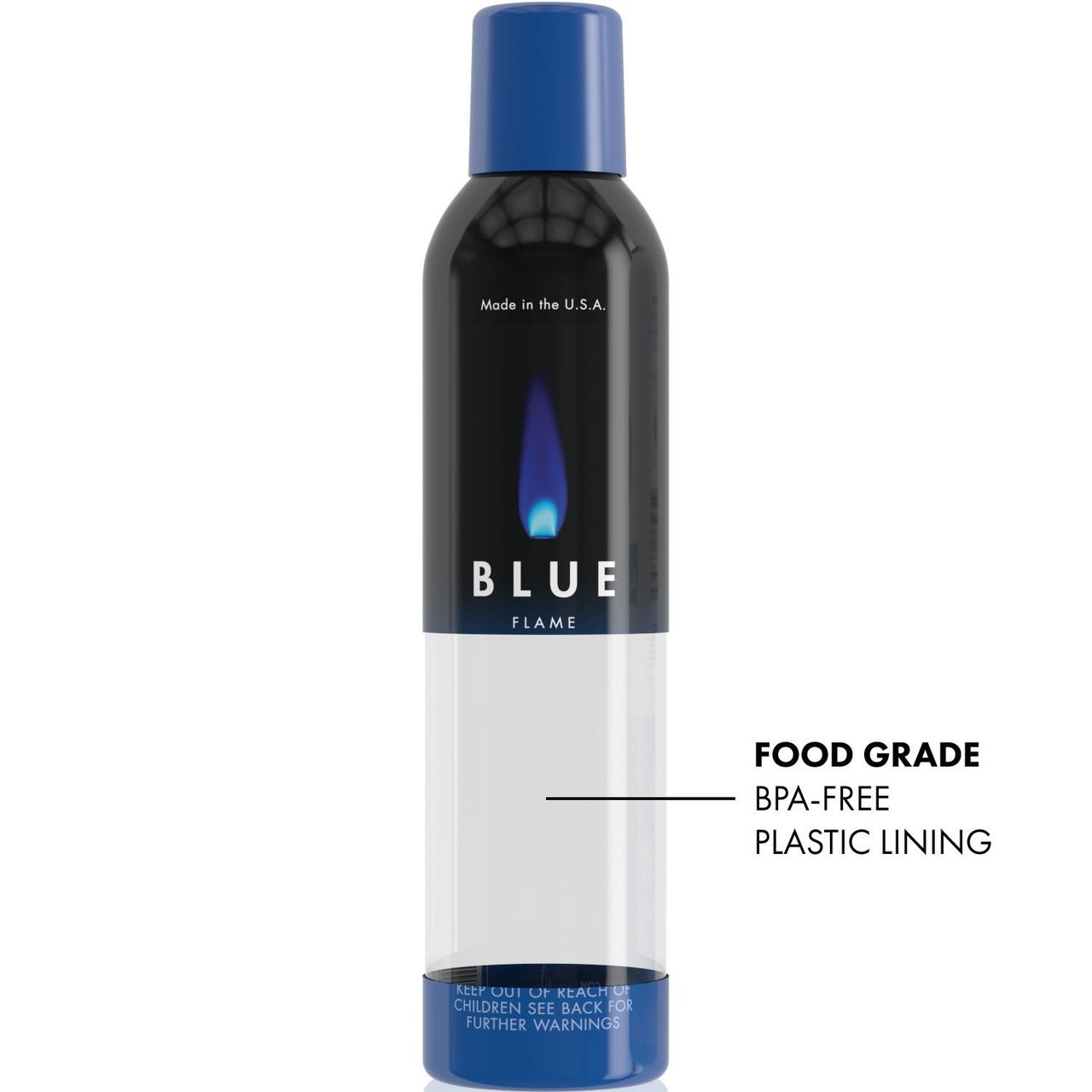 Blue Flame N-Butane Food-grade Triple Refined 11X Filtered Butane Gas