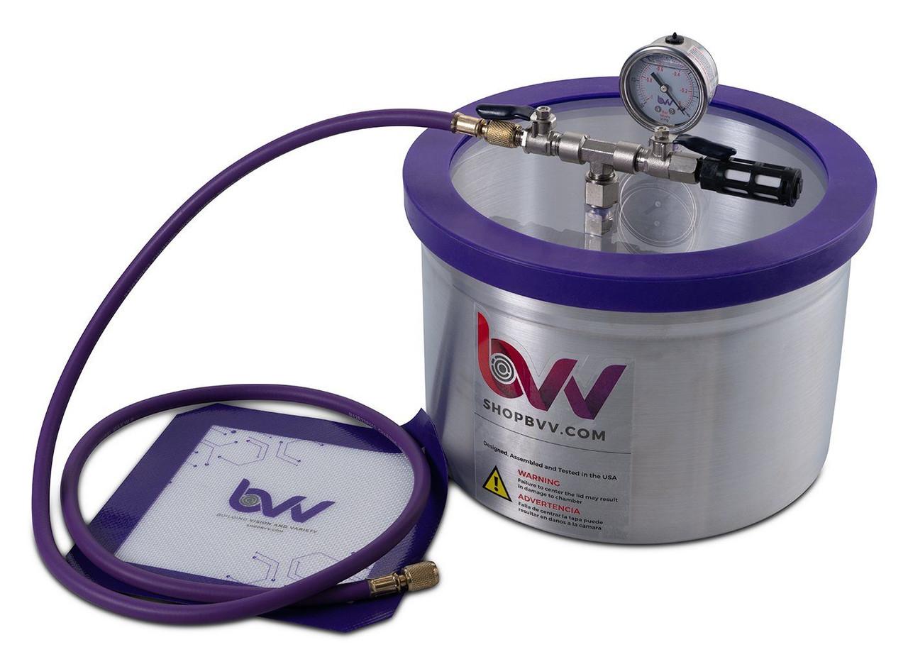 2 Gallon Aluminum Vacuum & Degassing Chamber- Best Value Vacs