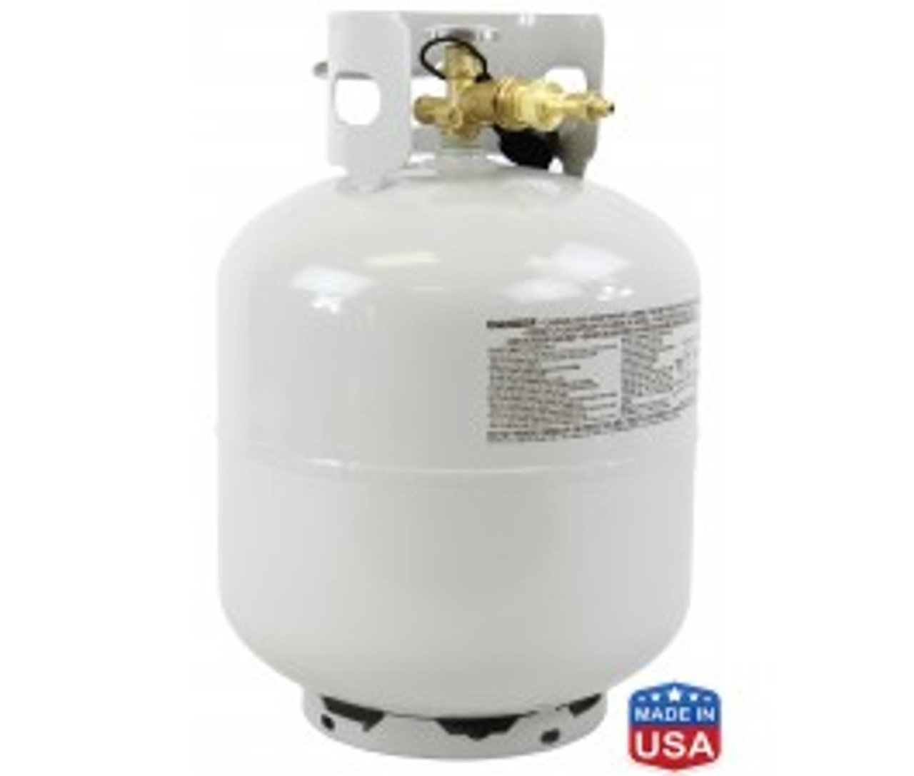 50# High Purity USA PROPANE Lot Analysis 99.66%, 99.5% Guaranteed (Ground Ship Only)