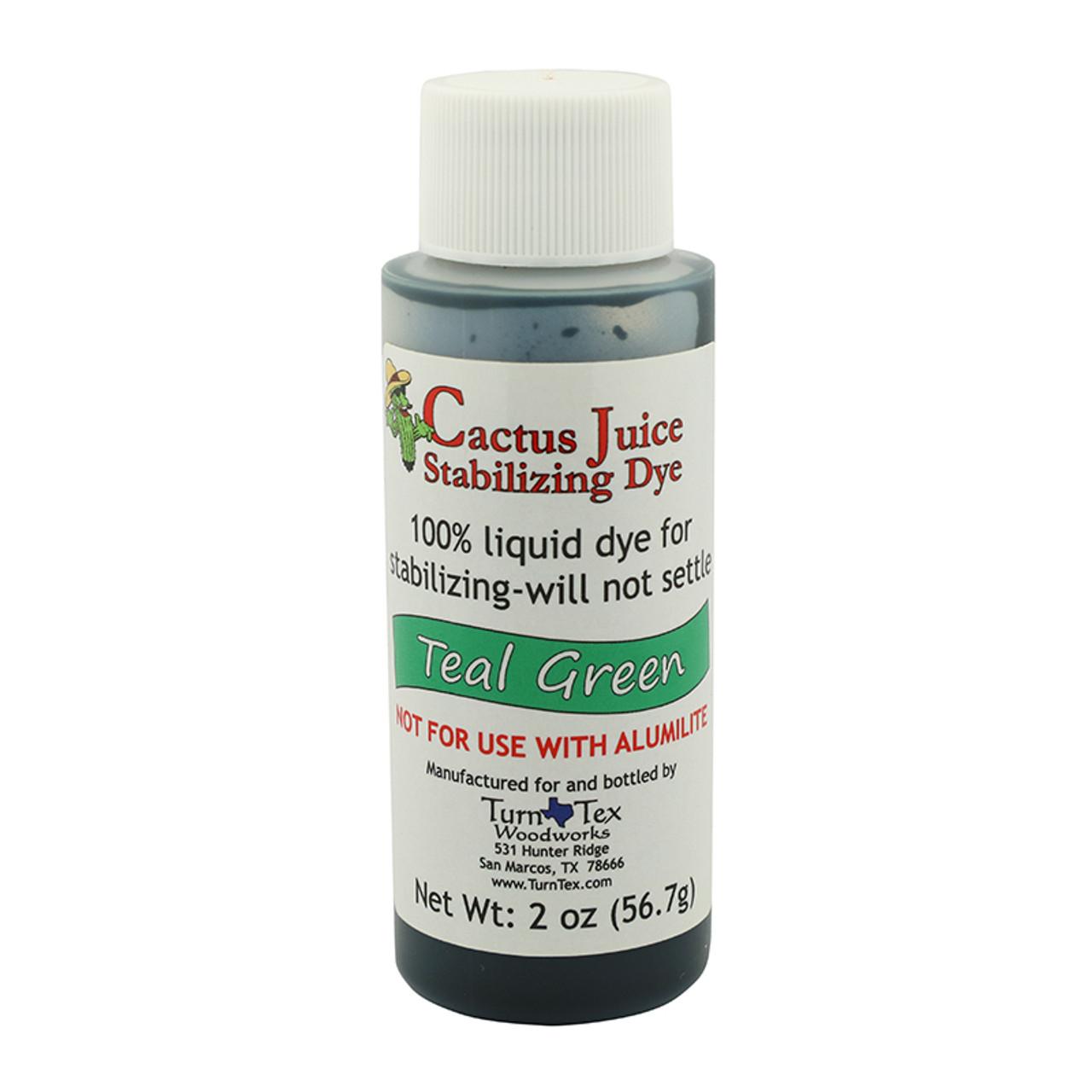 Cactus Juice Stabilizing Wood Coloring Dye - 2 oz