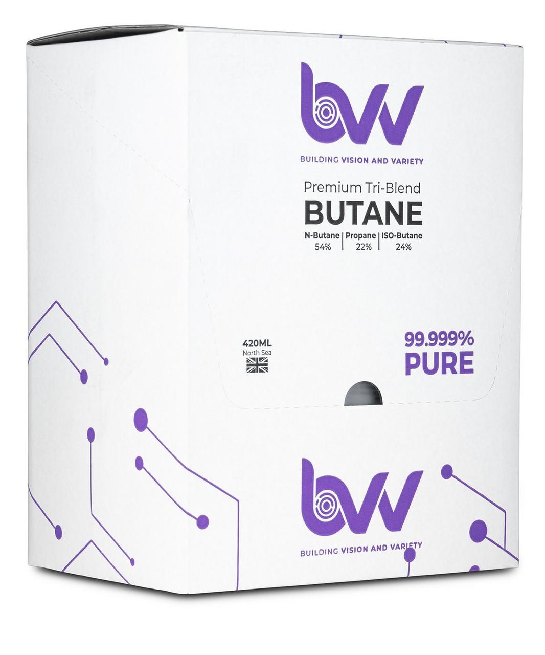 BVV Premium Tri-Blend Butane 99.999% Pure