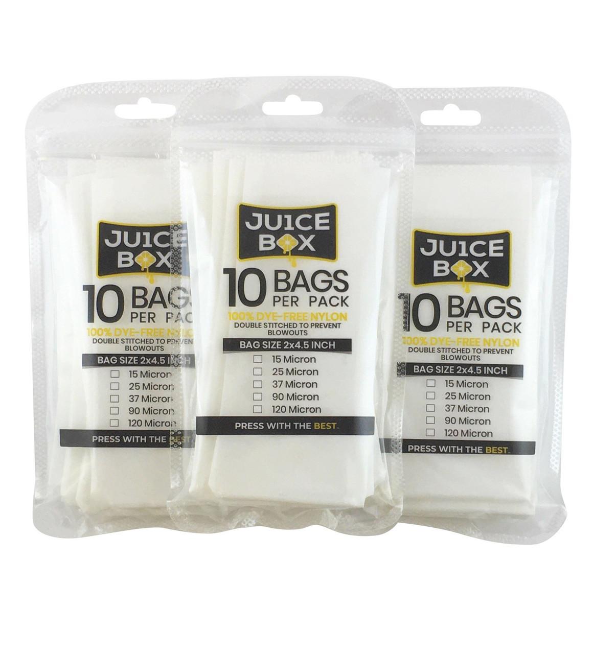 """Rosin Bags (1.25"""" x 3.25"""" - 30PK) (Ju1ce Box)"""
