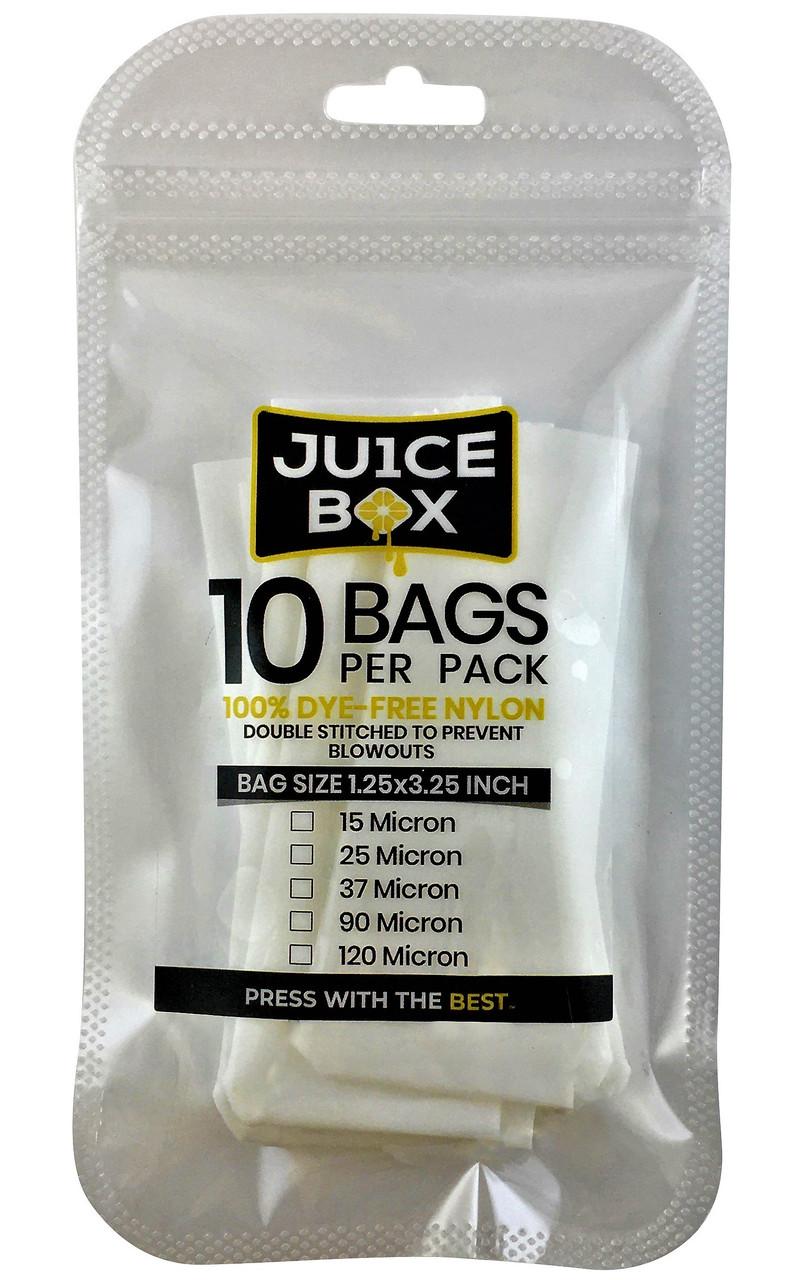 """Rosin Bags (1.25"""" x 3.25"""" - 10PK) (Ju1ce Box)"""