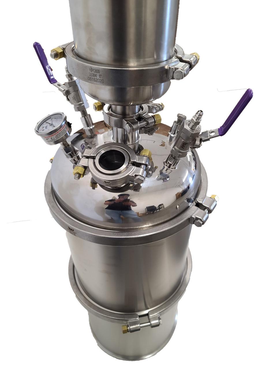 8.5LB Apollo Top Fill Closed Loop Extractor