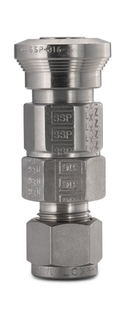 SSP Quick Disconnect - Fractional Tube Fitting - BODY