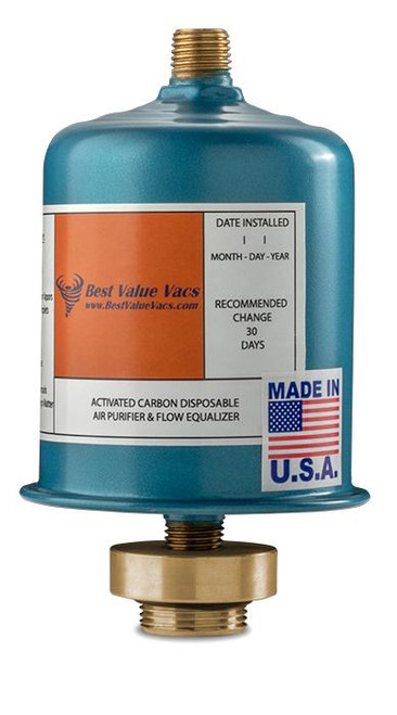 Vacuum Pump Activated Carbon Exhaust Filter