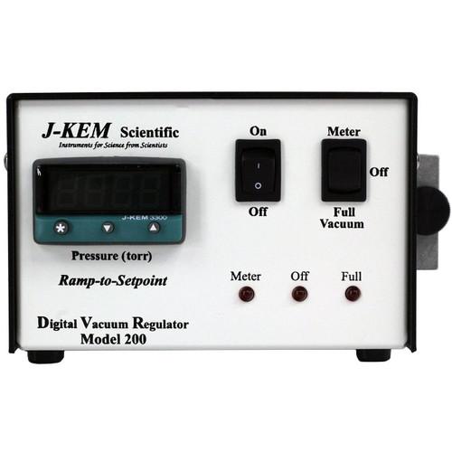 J-kem DVR-200 Digital Vacuum Regulator WITH fittings