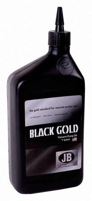 Premium Black Gold Vacuum Pump Oil - Just Better
