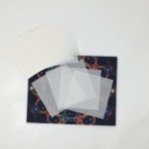"Oil Slick Non-Stick Precut Paper 4.5""X 4.5"" - Bulk"