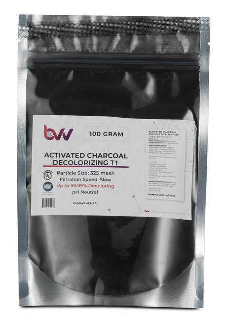 BVV™ Activated Charcoal Decolorizing T1 (100% Hardwood)