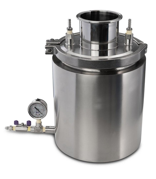 Stainless Steel Cold Trap w/ Fitting