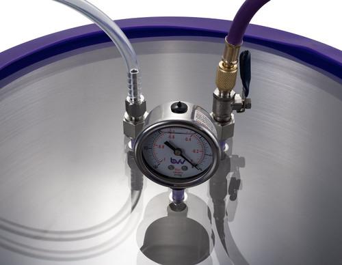 15 Gallon Aluminum Resin Trap Vacuum Chamber