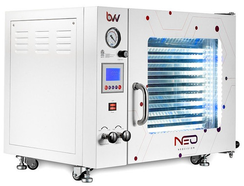 1.9CF BVV Neocision Certified Lab Vacuum Oven - 5 Wall Heating, LED, 11 Shelves Standard