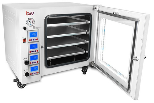3.2CF BVV Neocision Lab Certified Vacuum Oven, 4 Individually Heated Shelves, LED's